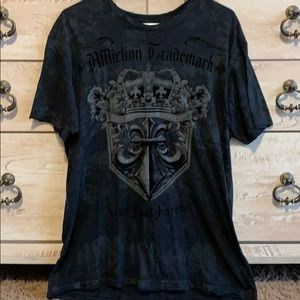 Men's Affliction Tee, Size Large